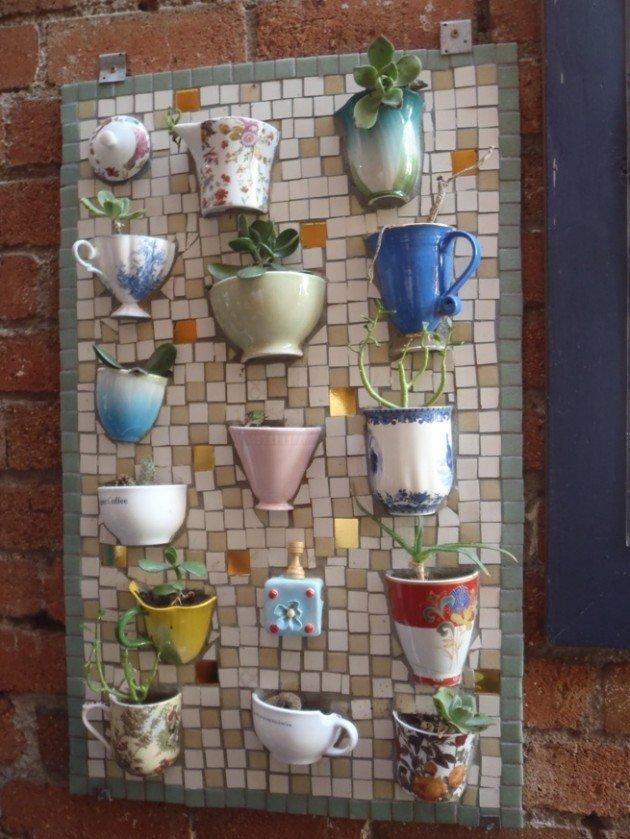 Creative Diy Items With Mosaic Decor For Diy Mosaic Wall Art (View 18 of 20)