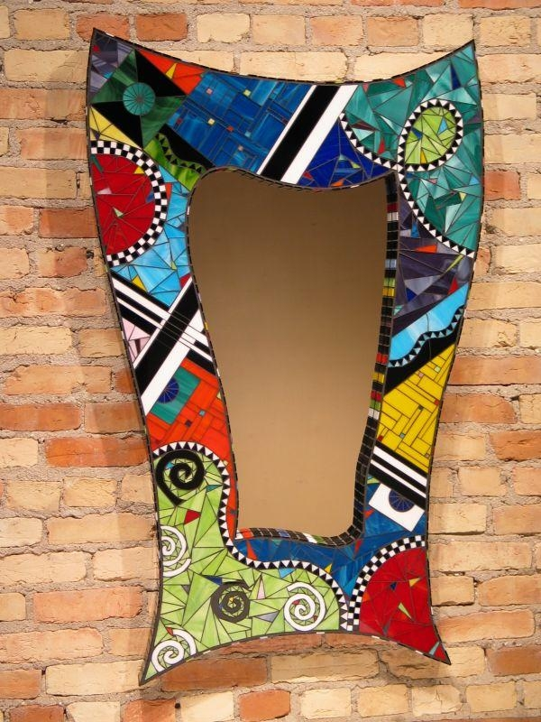 Creative Diy Items With Mosaic Decor Pertaining To Diy Mosaic Wall Art (View 16 of 20)