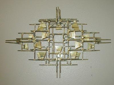 Curtis Jere Wall Sculpture – Saratoga Springs Interior Design Intended For C Jere Wall Art (Image 12 of 20)
