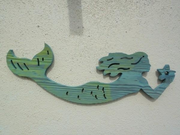 Custom 60+ Wooden Mermaid Wall Art Inspiration Of 34 Wooden With Regard To Wooden Mermaid Wall Art (View 5 of 20)