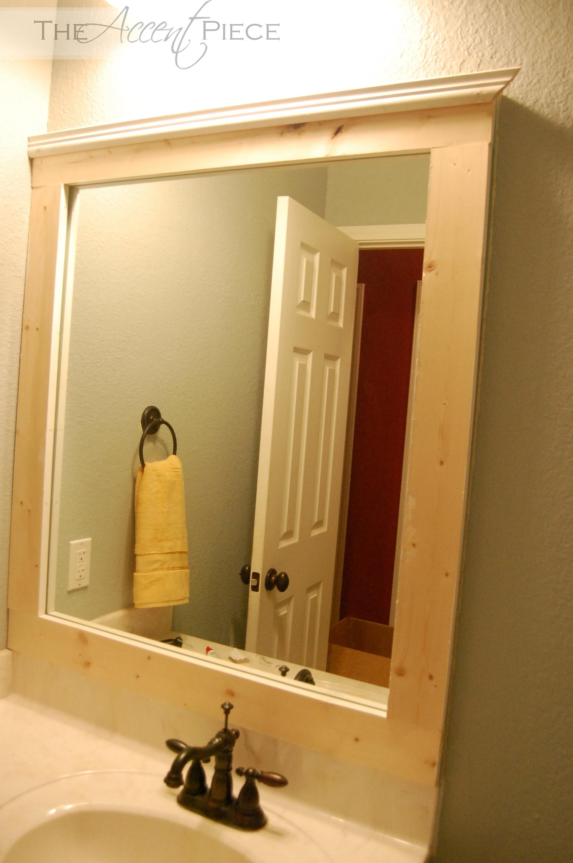 Custom Bathroom Mirrors Framed – Tables Blog | Tables Blog With Custom Framed Mirrors Online (Image 6 of 20)