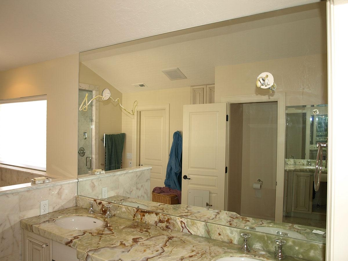 Custom Bathroom Mirrors – Salt Lake City, Ut – Sawyer Glass Pertaining To Custom Bathroom Mirrors (Image 11 of 20)