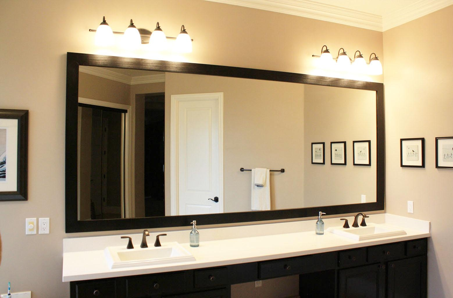 Custom Hanging Mirrors That Make Your Bathroom Pop! – The Regarding Houston Custom Mirrors (Image 1 of 20)