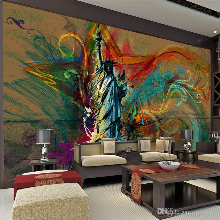 Featured Image of Abstract Art Wall Murals
