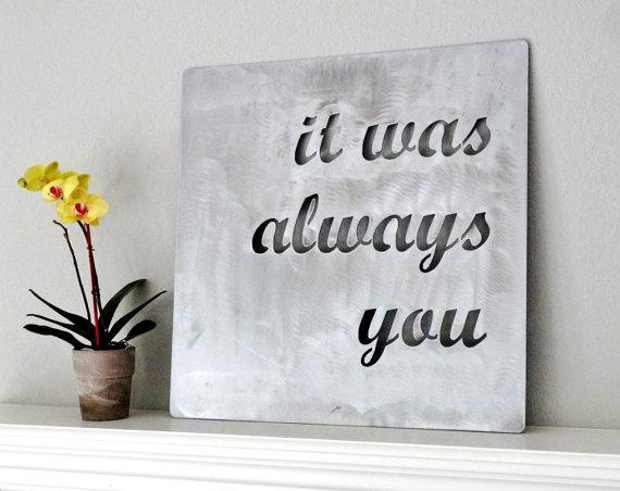 Featured Image of Metal Wall Art Quotes