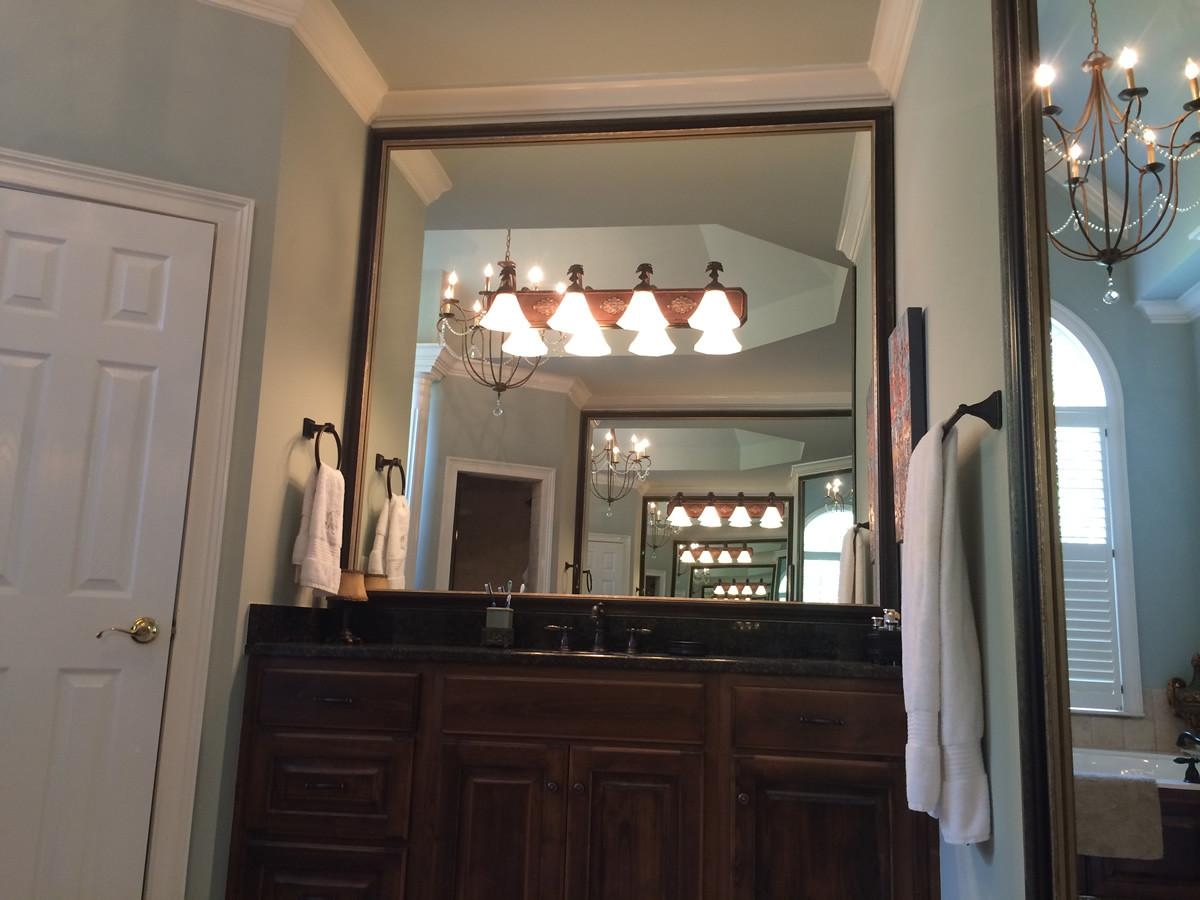 Custom Mirror Frames | Frames | Bathroom Mirror Frames Pertaining To Custom Bathroom Mirrors (Image 14 of 20)