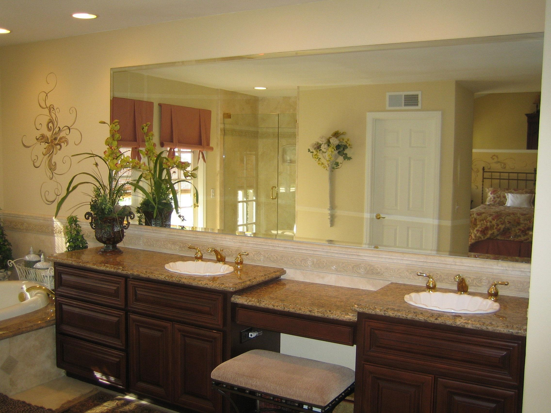 custom framed mirrors bathroom 20 collection of custom bathroom vanity mirrors mirror ideas 18028