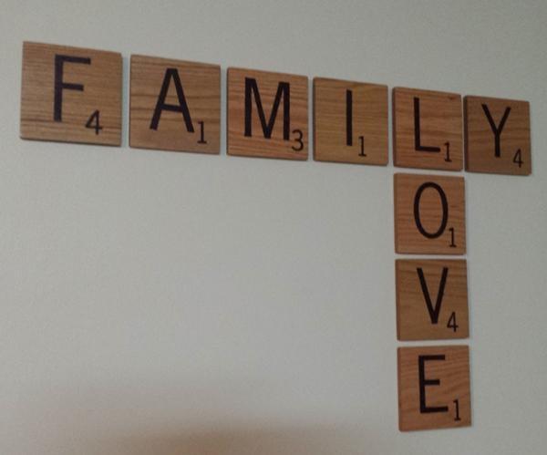 Custom Scrabble Tile Wall Art For Scrabble Letter Wall Art (View 17 of 20)
