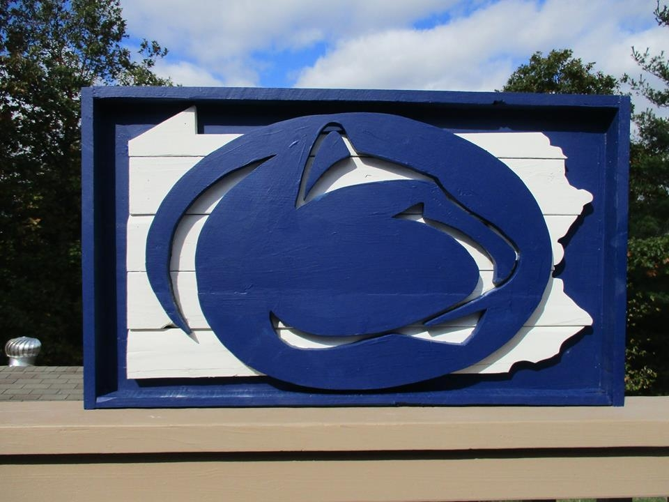 Custom Work – The Refined Pallet With Regard To Penn State Wall Art (View 20 of 20)