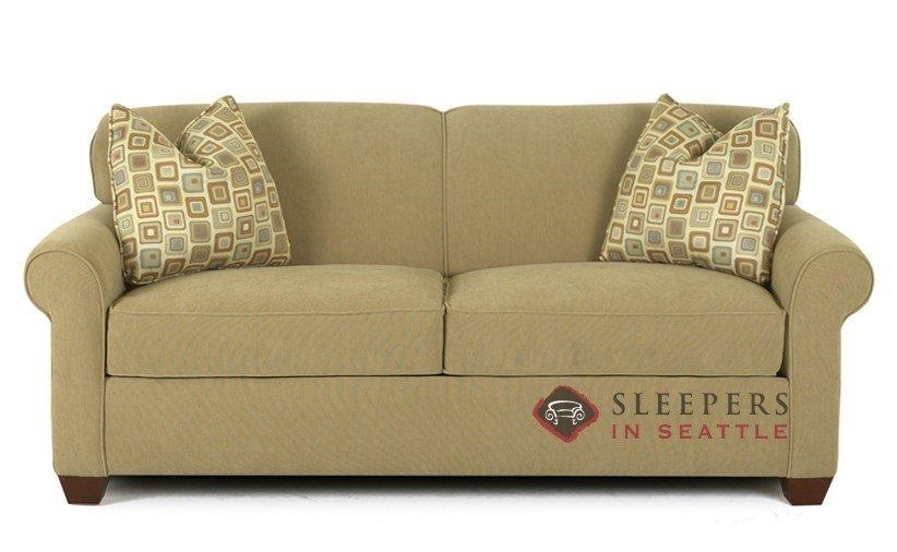 Customize And Personalize Calgary Full Fabric Sofasavvy | Full With Denver Sleeper Sofas (Image 3 of 20)