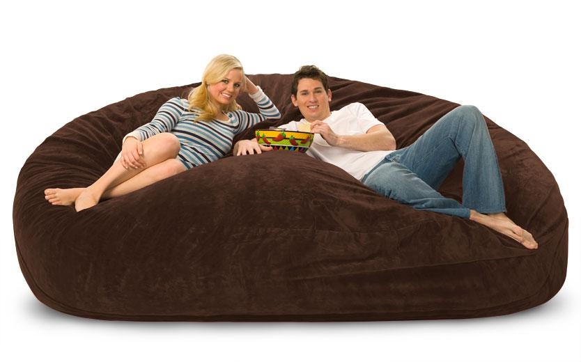 Customize Your Fombag – Giant Bean Bag Chair Inside Giant Bean Bag Chairs (Image 5 of 20)