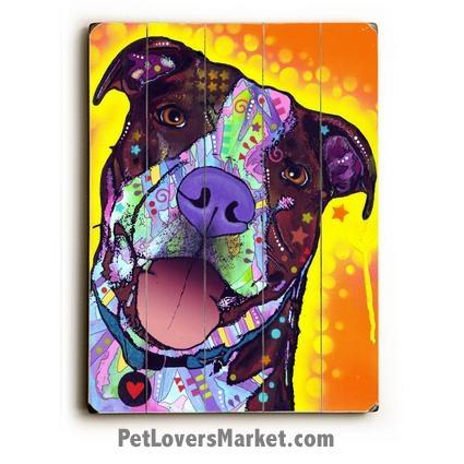 Daisy Pit – Dean Russo Pitbull / Pitbull Art / Dean Russo Art Within Pitbull Wall Art (View 20 of 20)