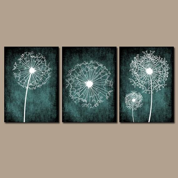 Featured Image of Wall Art Teal Colour