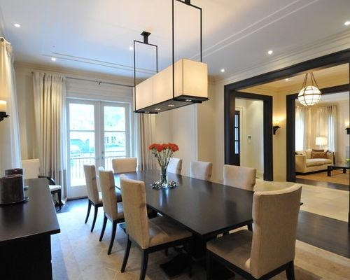 Dark Dining Table | Houzz With Most Current Dark Dining Tables (Image 11 of 20)