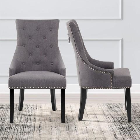 Dark Grey Dining Chairs (Image 9 of 20)