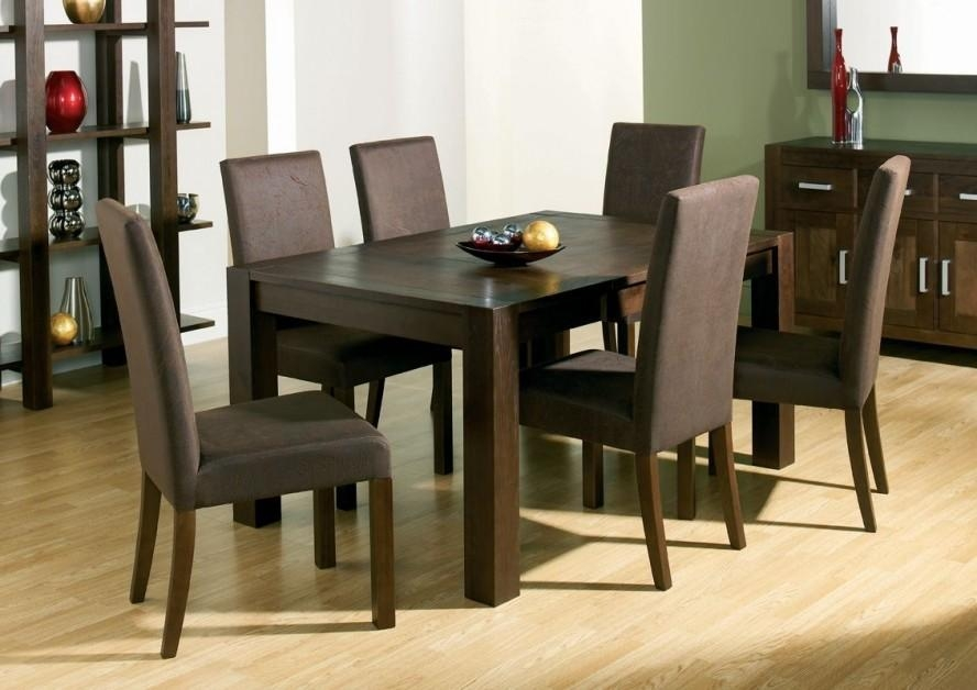 Dark Wood Dining Sets – Insurserviceonline Within 2018 Dining Tables Dark Wood (Image 9 of 20)