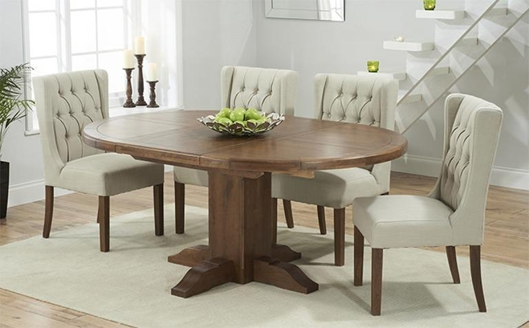 Dark Wood Dining Table Sets | Great Furniture Trading Company With Regard To Most Recent Round Extendable Dining Tables And Chairs (Image 10 of 20)