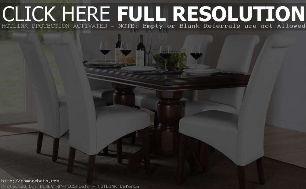 Dark Wood Dining Table Sets – Insurserviceonline Intended For Latest Dining Tables Dark Wood (Image 13 of 20)