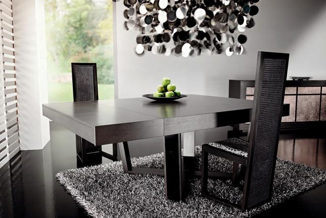 Dark Wood Dining Tablerattanwood Regarding Newest Dark Dining Tables (Image 15 of 20)