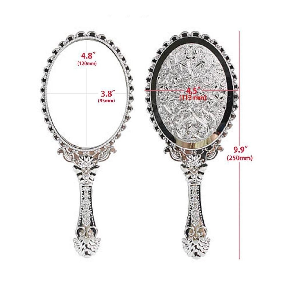 Decor : Hand Mirrors Decorative Home Decor Interior Exterior Fresh Regarding Decorative Hand Mirrors (Image 6 of 20)