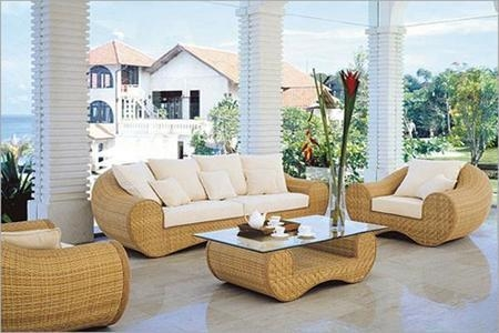 Decorate Your Living Roomdesigner Cane Chair And Cane Table In Ken Sofa Sets (Image 15 of 20)