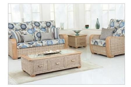 Decorate Your Living Roomdesigner Cane Chair And Cane Table Within Ken Sofa Sets (Image 18 of 20)