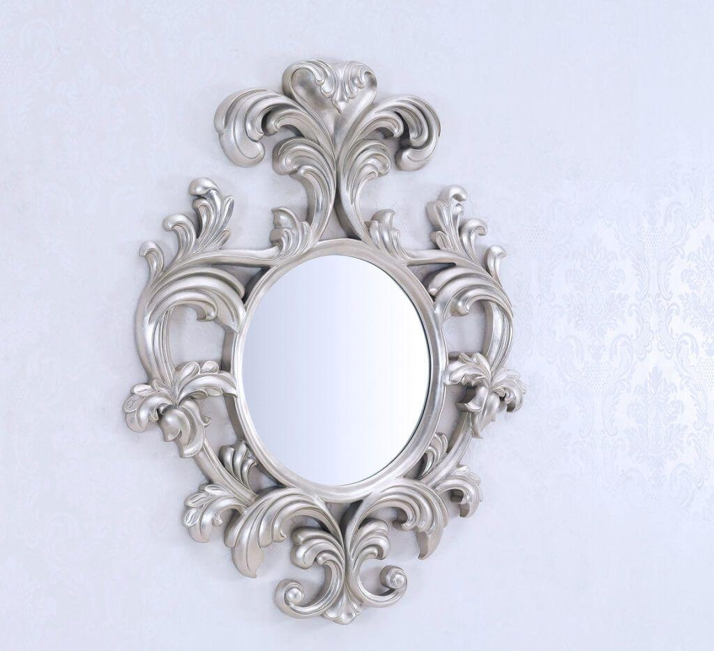 Decorating: Antique Style Rectangular Small Wall Mirrors Within Decorative Hand Mirrors (Image 8 of 20)