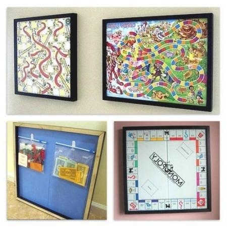 Decorating: Are You Game? | Old Board Games, Offices And Wall Within Board Game Wall Art (Image 9 of 20)