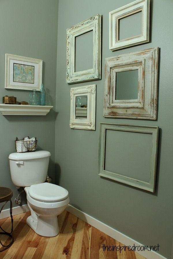 Decorating Ideas For Bathroom Walls Glamorous Decor Ideas Bathroom Pertaining To Glamorous Bathroom Wall Art (Image 13 of 20)