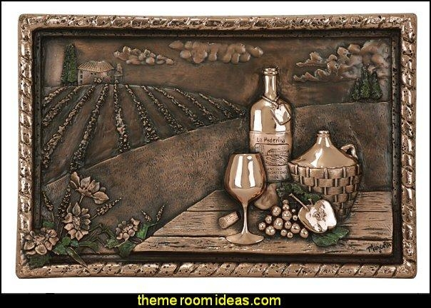 Decorating Theme Bedrooms – Maries Manor: Tuscany Vineyard Style In Grape Vineyard Wall Art (Image 12 of 20)