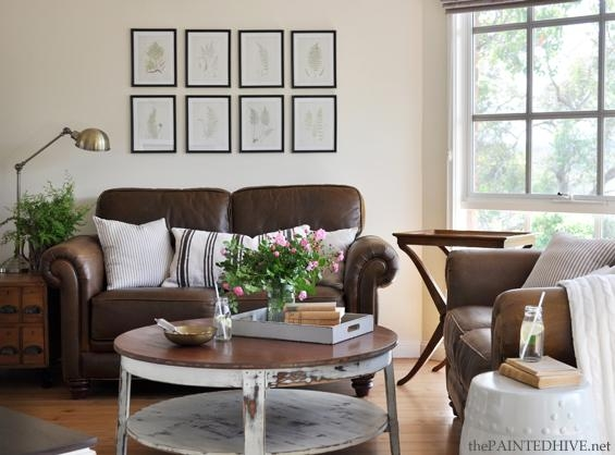 Decorating With A Brown Sofa In Living Room With Brown Sofas (Image 11 of 20)