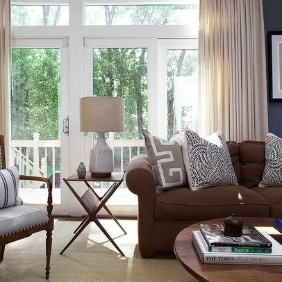 Decorating With A Brown Sofa With Brown Sofas Decorating (Image 13 of 20)
