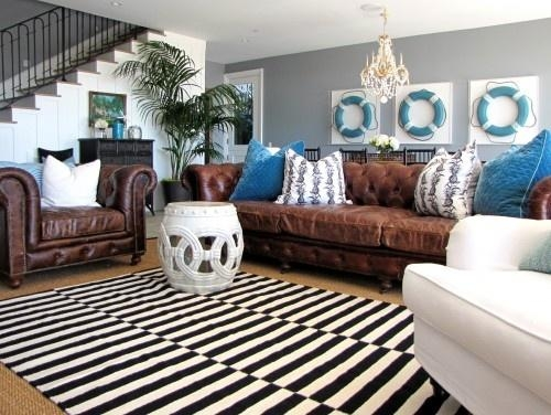 Decorating With A Brown Sofa With Regard To Living Room With Brown Sofas (Image 13 of 20)