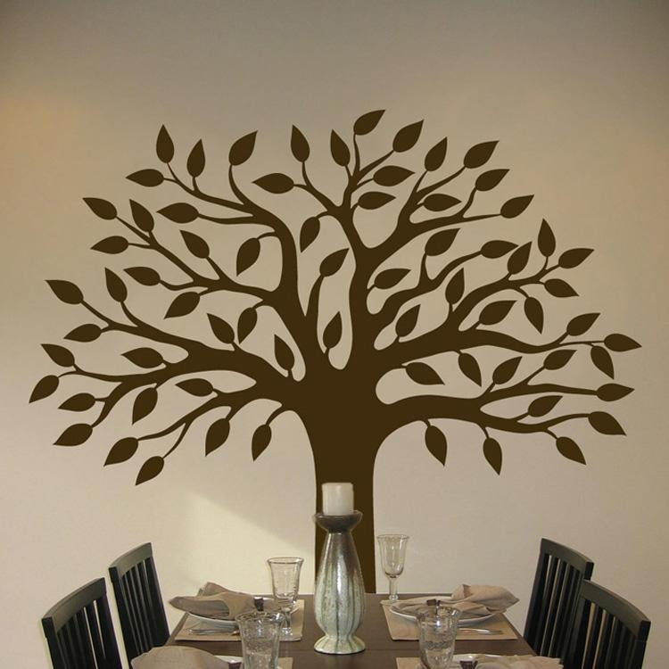 Decorating Your Children's Room With Tree Wall Decals — Home With Wall Cling Art (Image 4 of 20)