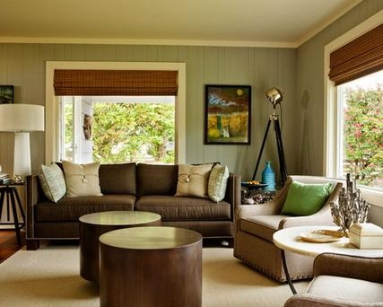 Decorating Your Your Small Home Design With Luxury Cool Brown Sofa Pertaining To Brown Sofas Decorating (Image 15 of 20)
