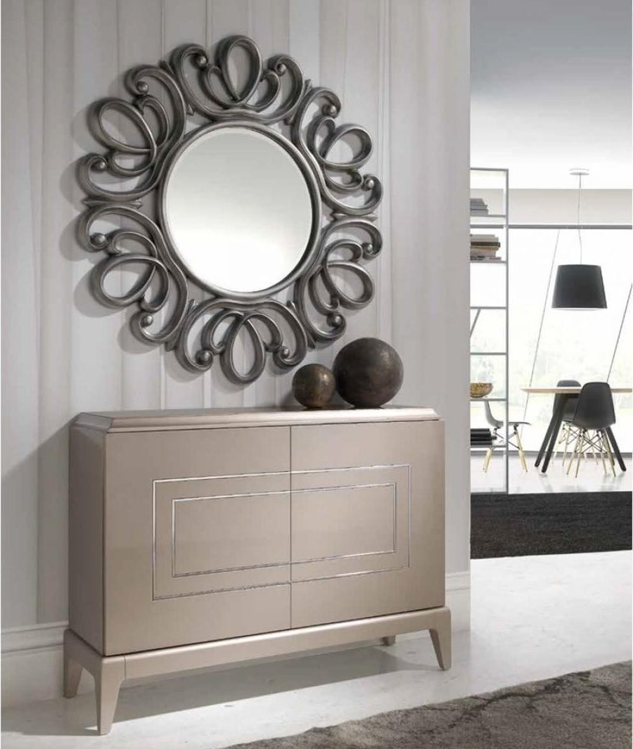 Decoration Lovable Modern Circular Mirror Great Addition To Any With Regard To Modern Hall Mirrors (Image 8 of 20)