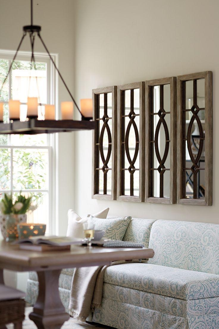 Decorations For Dining Room Walls Inspiration Decor Fda Living With Regard To Decorative Living Room Wall Mirrors (Image 5 of 20)