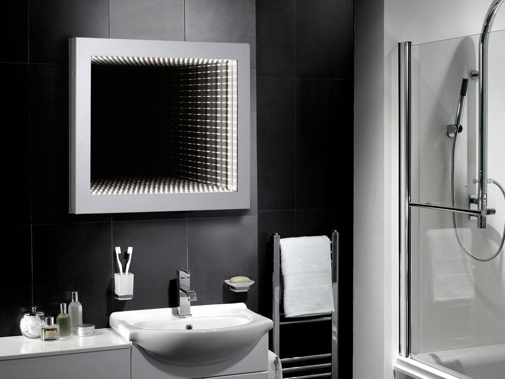 Decorative Bathroom Mirrors « House Plans Ideas Throughout Modern Mirrors For Bathrooms (Image 14 of 20)