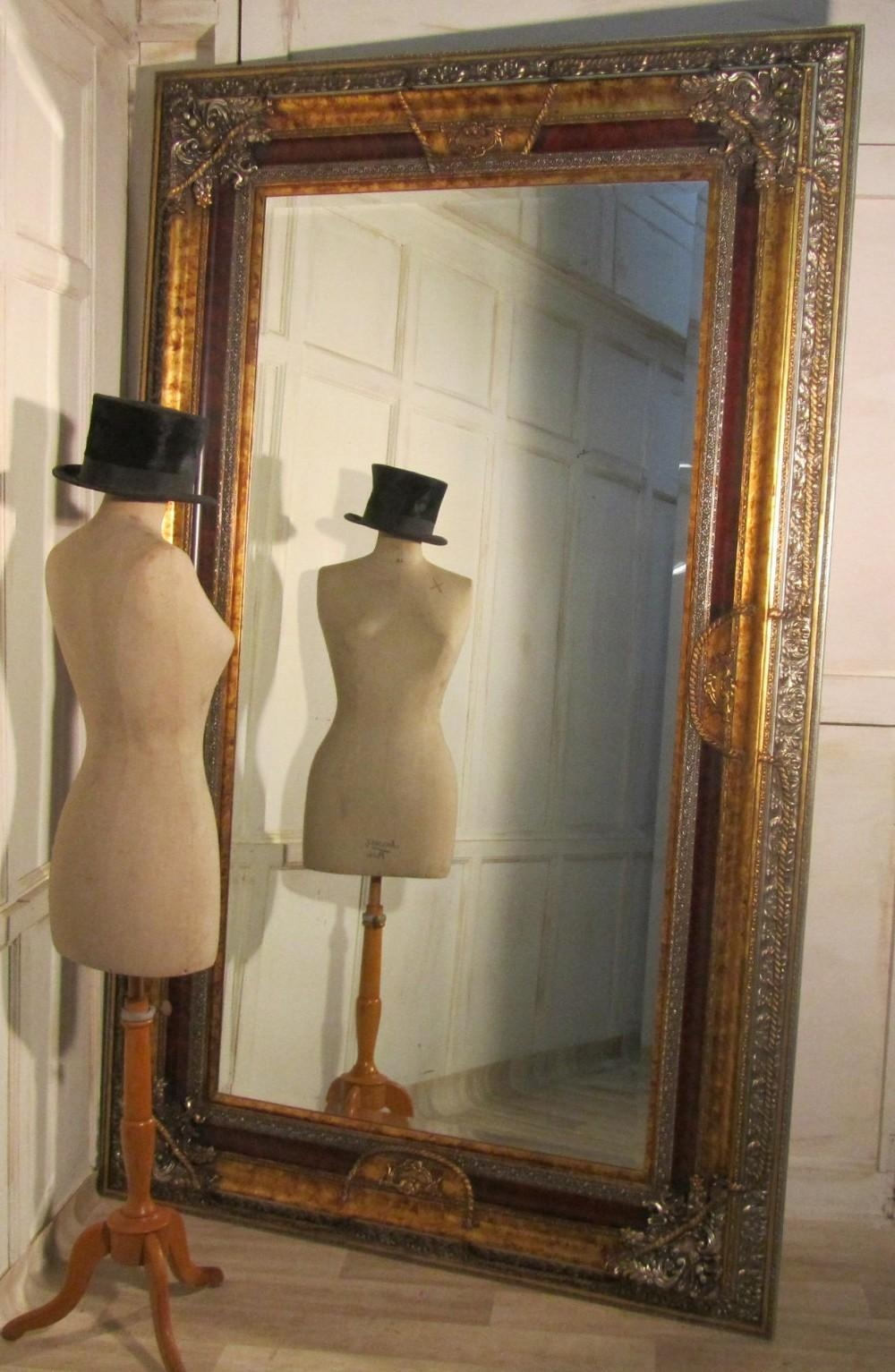 Decorative Large Decorative Wall Mirrors With Regard To Big Wall Mirrors (View 6 of 20)