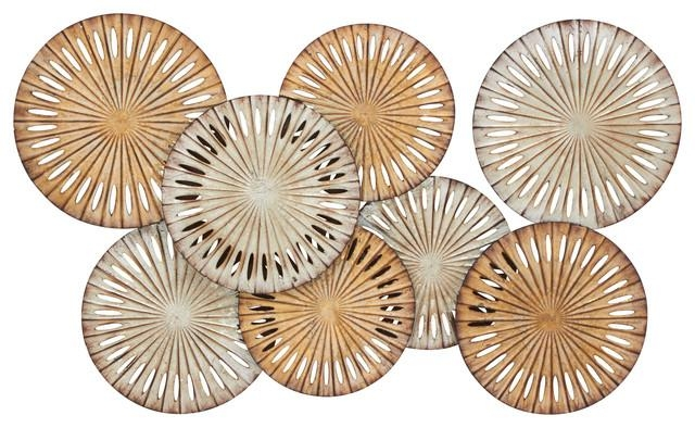 Decorative Metal Disc Wall Art – Shop Decorative Metal Disc Pertaining To Decorative Metal Disc Wall Art (Image 11 of 20)