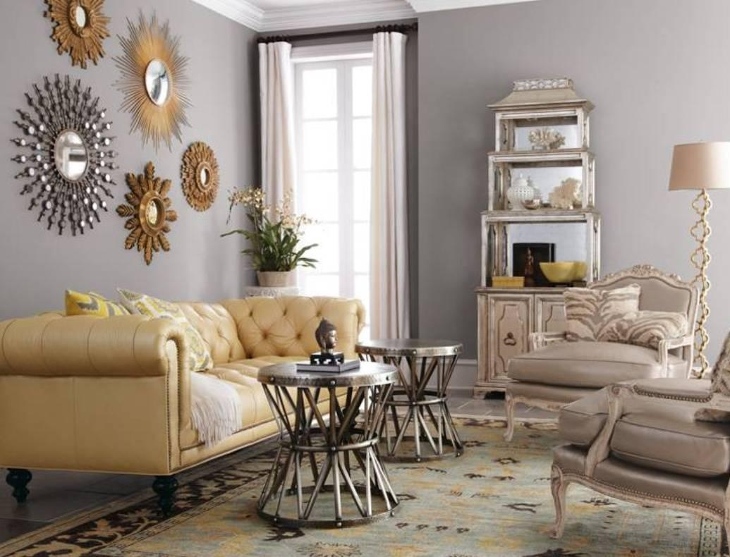Decorative Wall Mirrors For Living Room Collection And Images With Regard To Framed Mirrors For Living Room (Image 7 of 20)