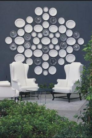 Decorative Wall Plates – Eclectic – Deck/patio With Decorative Plates For Wall Art (Image 14 of 20)