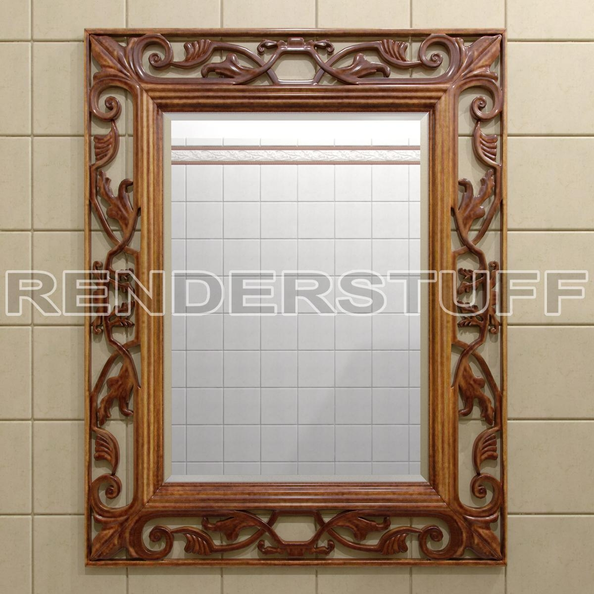 Featured Image of Decorative Wooden Mirrors