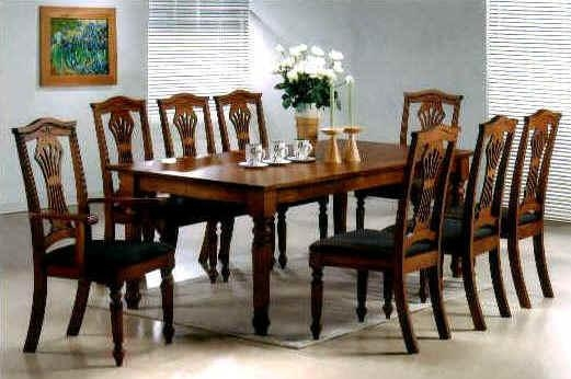Delightful Decoration 8 Seat Dining Table Spectacular Idea Dining In Most Current 8 Seat Dining Tables (Image 9 of 20)
