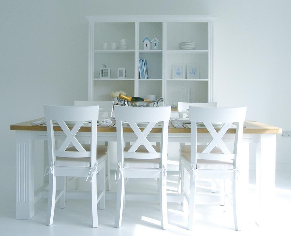 Delightful Decoration White Dining Table And Chairs Clever Ideas For Current White Dining Tables And Chairs (View 12 of 20)