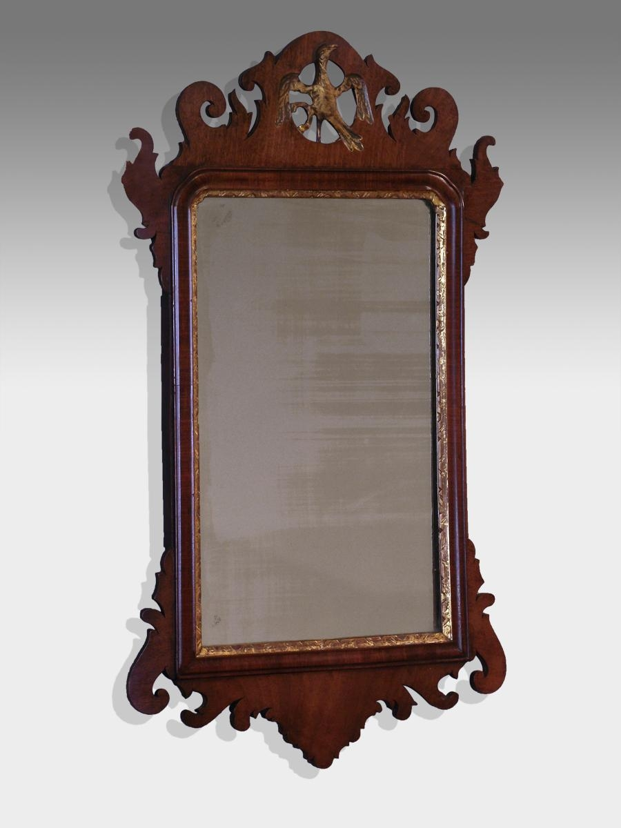 Delightful Design Antique Wall Mirror Vibrant Ideas Antique Inside Vintage Wood Mirrors (Image 8 of 20)