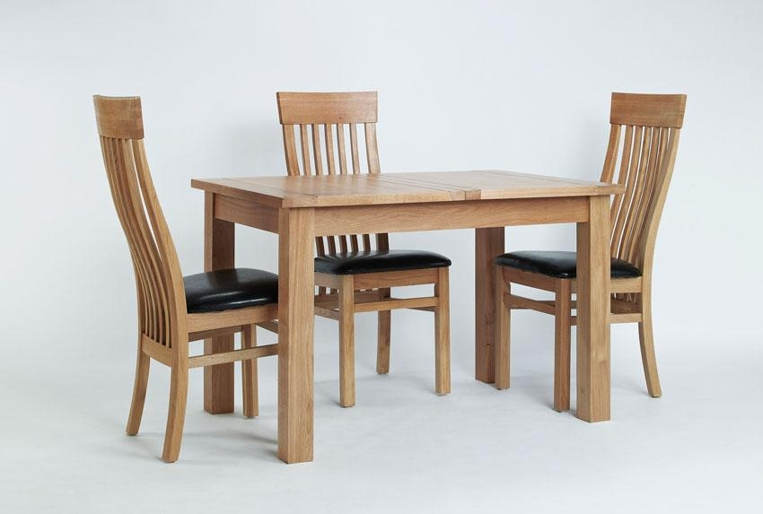 Design For Oak Dinning Table Ideas #26249 Throughout Newest Small Extending Dining Tables And Chairs (Image 8 of 20)