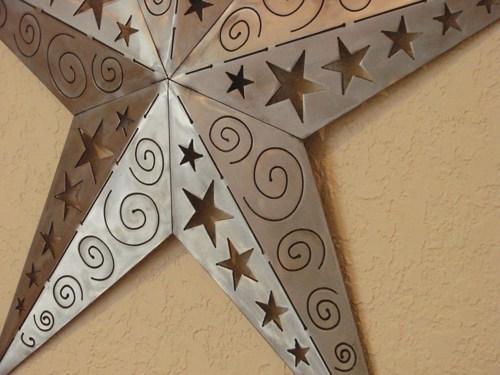 Dimensional Texas Star Metal Plasma Cut Wall Art In Texas Star Wall Art (Image 5 of 20)