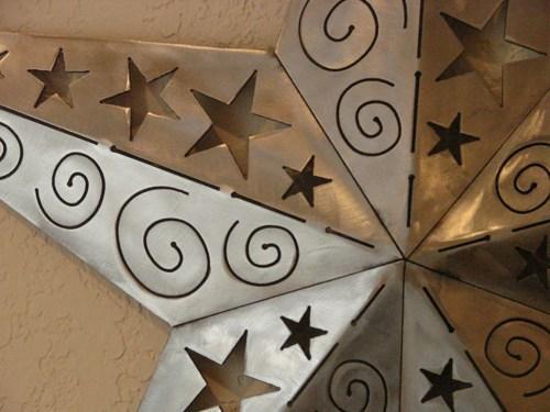 Dimensional Texas Star Metal Plasma Cut Wall Art With Texas Star Wall Art (Image 6 of 20)