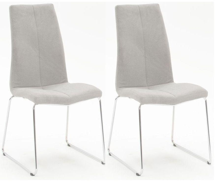 Dining Chair : Appealing Grey Rectangle Modern Leather Gray Dining Intended For Most Recent Grey Dining Chairs (Image 11 of 20)